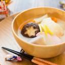 豆乳味噌のお雑煮